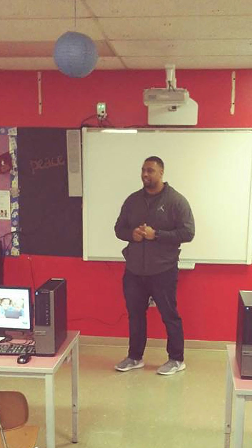 The New Standard Academy Charter School | Lamarr Woodley